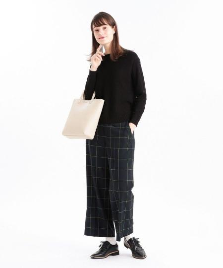 MACKINTOSH PHILOSOPHYのミックスパターンニットプルオーバーを使ったコーディネートを紹介します。|Rakuten Fashion(楽天ファッション/旧楽天ブランドアベニュー)1068635