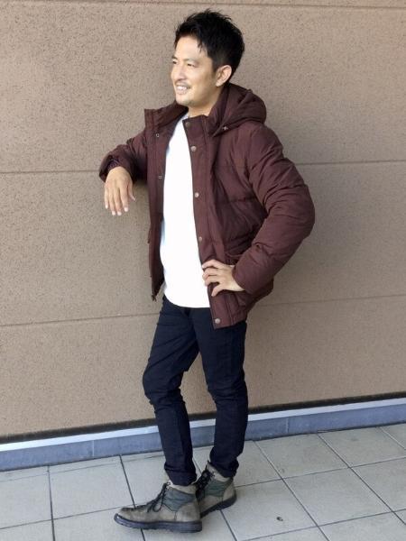 GAPの(M)ボクシー ワッフルニットTシャツを使ったコーディネートを紹介します。|Rakuten Fashion(楽天ファッション/旧楽天ブランドアベニュー)1069380