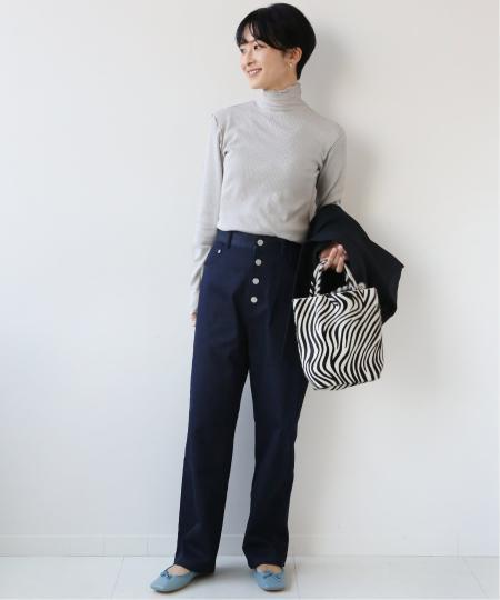 JOURNAL STANDARD relumeのJammyランダムテレコハイネックロングスリーブ◆を使ったコーディネートを紹介します。|Rakuten Fashion(楽天ファッション/旧楽天ブランドアベニュー)1069527