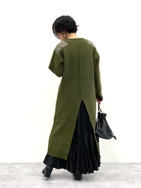 LAKOLEの(W)5GミリタリーアゼニットDRSを使ったコーディネートを紹介します。|Rakuten Fashion(楽天ファッション/旧楽天ブランドアベニュー)1070725