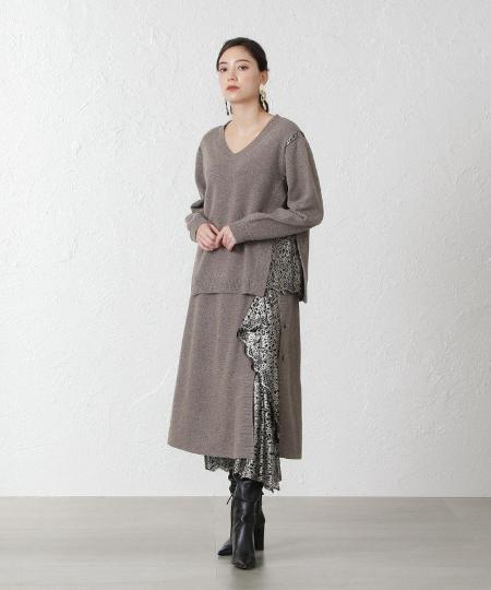 EPOCA THE SHOPの【La maglia due】レースコンビニットスカートを使ったコーディネートを紹介します。|Rakuten Fashion(楽天ファッション/旧楽天ブランドアベニュー)1070851