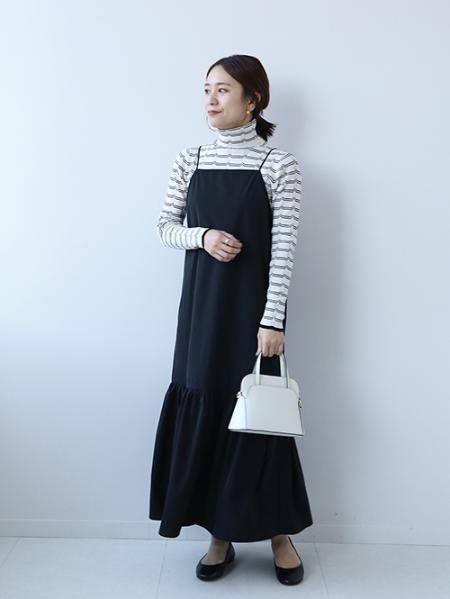 JOURNAL STANDARD relumeのイージーストレッチ ギャザーキャミワンピース◆を使ったコーディネートを紹介します。|Rakuten Fashion(楽天ファッション/旧楽天ブランドアベニュー)1071160