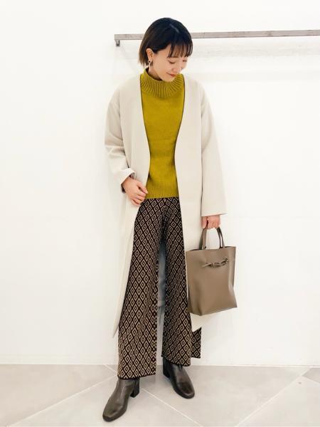 LAKOLEの(W)12GスフレタッチコクーンPOを使ったコーディネートを紹介します。 Rakuten Fashion(楽天ファッション/旧楽天ブランドアベニュー)1071512
