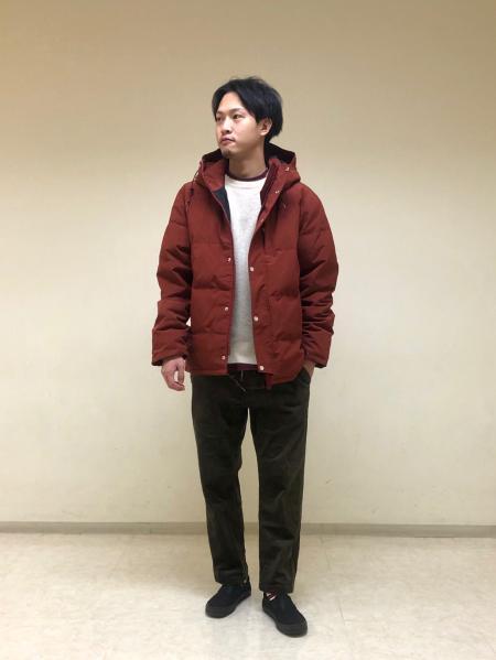 JOURNAL STANDARDの【LASKA / ラスカ】850HT フードダウンを使ったコーディネートを紹介します。|Rakuten Fashion(楽天ファッション/旧楽天ブランドアベニュー)1071802