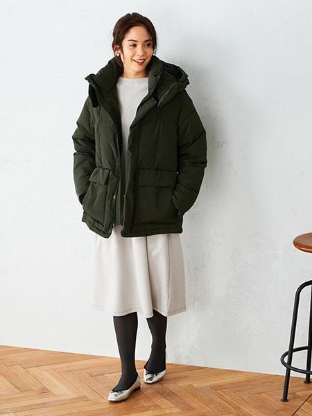 COMME CA ISMのボトルネック ワンピースを使ったコーディネートを紹介します。|Rakuten Fashion(楽天ファッション/旧楽天ブランドアベニュー)1071881