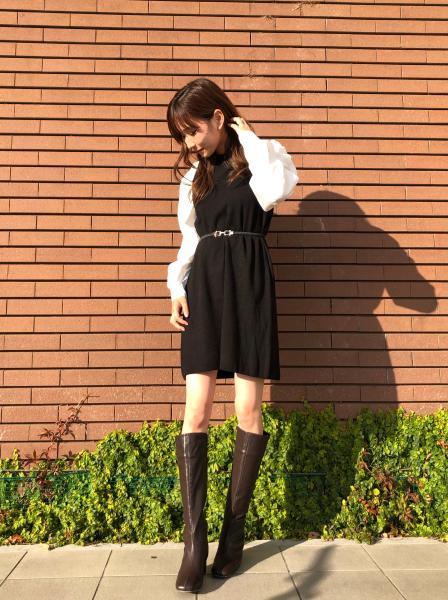 INGNIの12G袖異素材OPを使ったコーディネートを紹介します。|Rakuten Fashion(楽天ファッション/旧楽天ブランドアベニュー)1072367