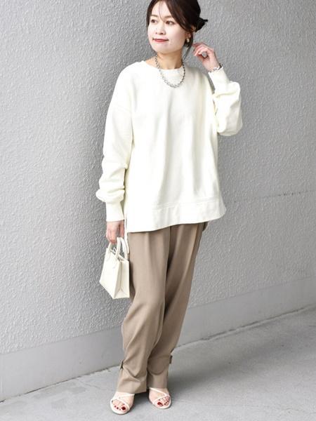 SHIPSのオーガニックコットン クルーネックプルオーバー◇を使ったコーディネートを紹介します。|Rakuten Fashion(楽天ファッション/旧楽天ブランドアベニュー)1072384