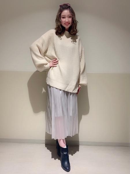 INGNIのシアープリーツ/SKを使ったコーディネートを紹介します。|Rakuten Fashion(楽天ファッション/旧楽天ブランドアベニュー)1072442