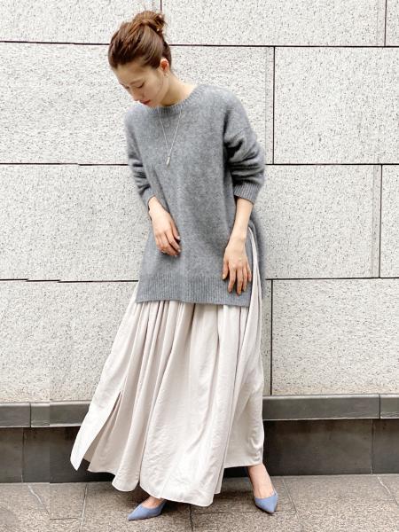 plageのsemi glow スカート◆を使ったコーディネートを紹介します。|Rakuten Fashion(楽天ファッション/旧楽天ブランドアベニュー)1072480