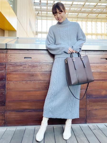 N. Natural Beauty Basic*のコンビマテリアルトートバッグを使ったコーディネートを紹介します。 Rakuten Fashion(楽天ファッション/旧楽天ブランドアベニュー)1072981