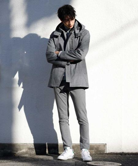 MK MICHEL KLEIN hommeのタートルネック / モダールポンチを使ったコーディネートを紹介します。|Rakuten Fashion(楽天ファッション/旧楽天ブランドアベニュー)1073044