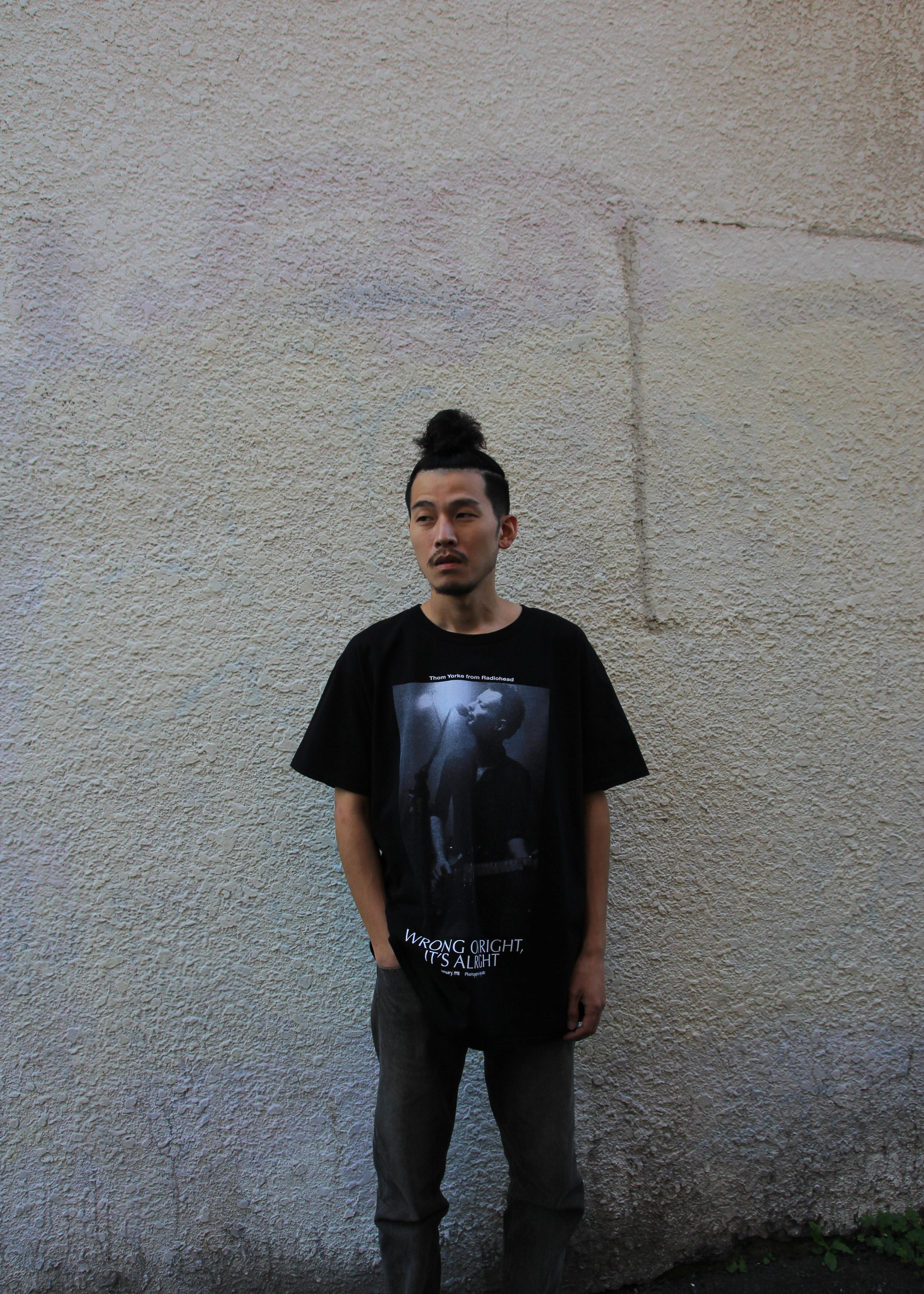 bonjour recordsの【bonjour records】トム ヨークSHORT SLEEVE TEEを使ったコーディネートを紹介します。|Rakuten Fashion(楽天ファッション/旧楽天ブランドアベニュー)1074013
