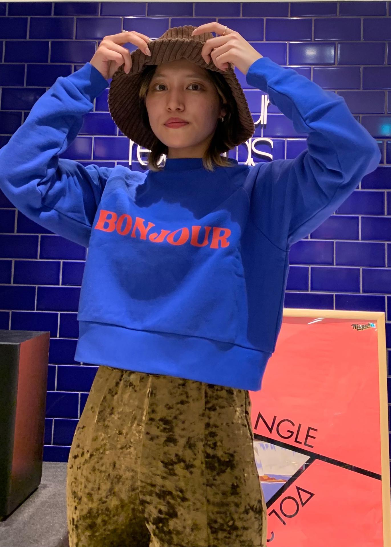 bonjour recordsの【Bonjour Girl】ロゴ ラグランスウェットPOを使ったコーディネートを紹介します。|Rakuten Fashion(楽天ファッション/旧楽天ブランドアベニュー)1074004