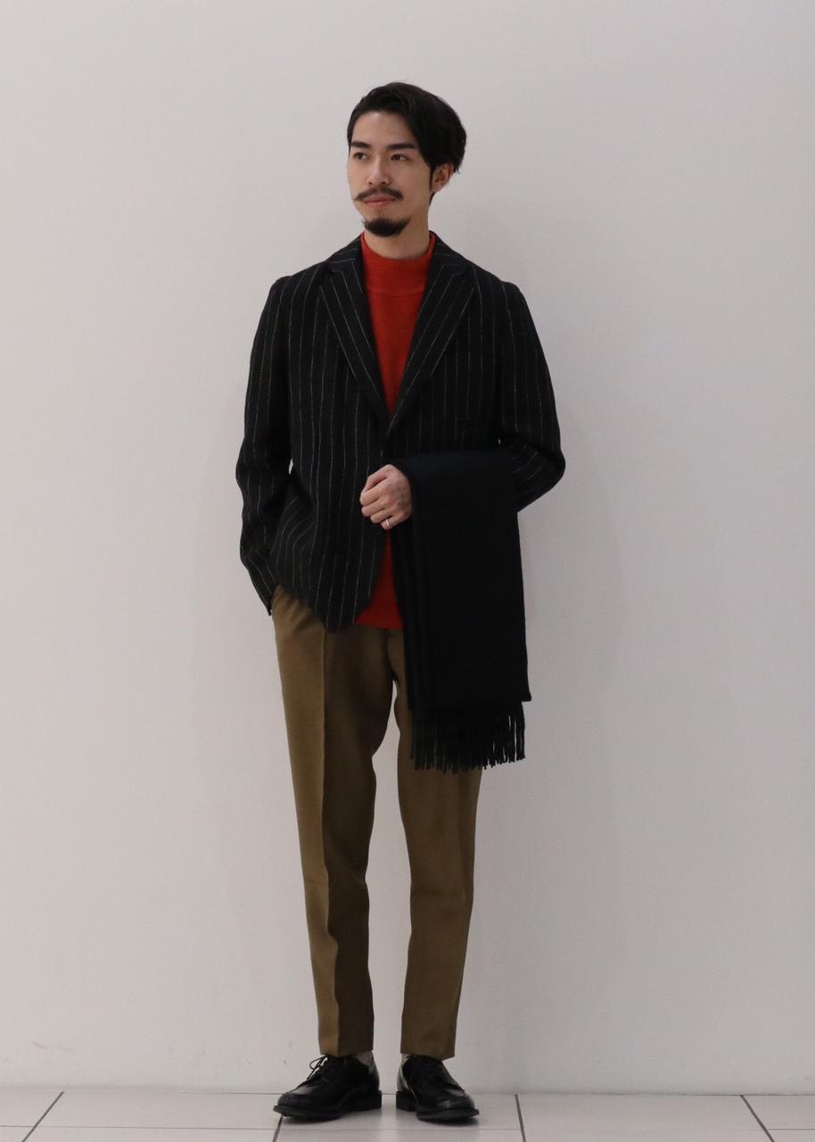 ADAM ET ROPE'の【Wild Life Tailor】ウォッシュドリネンジャケットを使ったコーディネートを紹介します。|Rakuten Fashion(楽天ファッション/旧楽天ブランドアベニュー)1074396