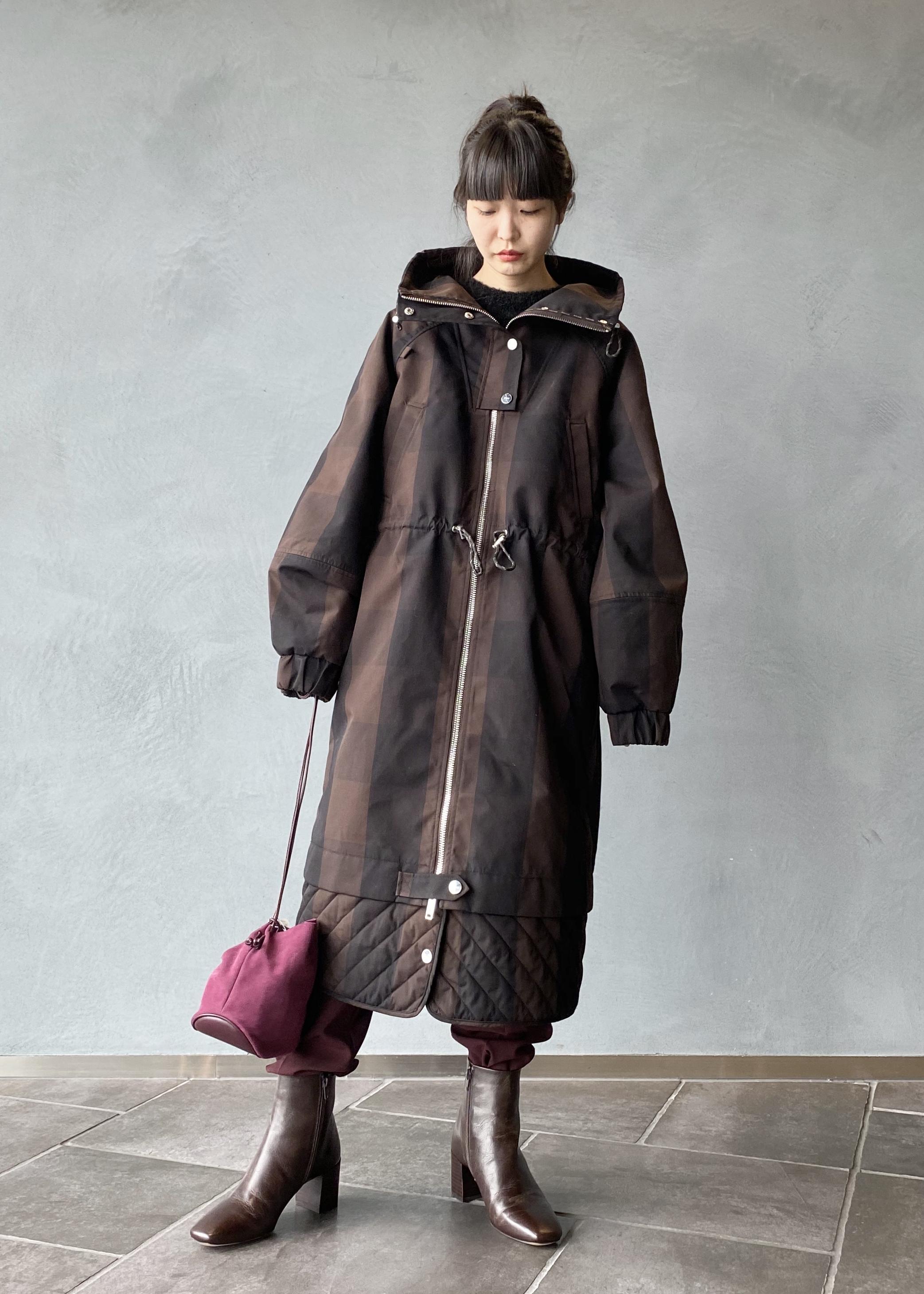 ADAM ET ROPE'のミディ丈ヒールカップブーツを使ったコーディネートを紹介します。|Rakuten Fashion(楽天ファッション/旧楽天ブランドアベニュー)1076819