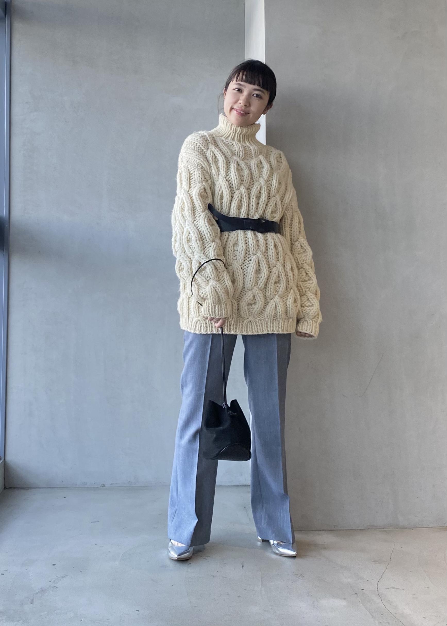 ADAM ET ROPE'の2WAYサッシュベルトを使ったコーディネートを紹介します。|Rakuten Fashion(楽天ファッション/旧楽天ブランドアベニュー)1076840