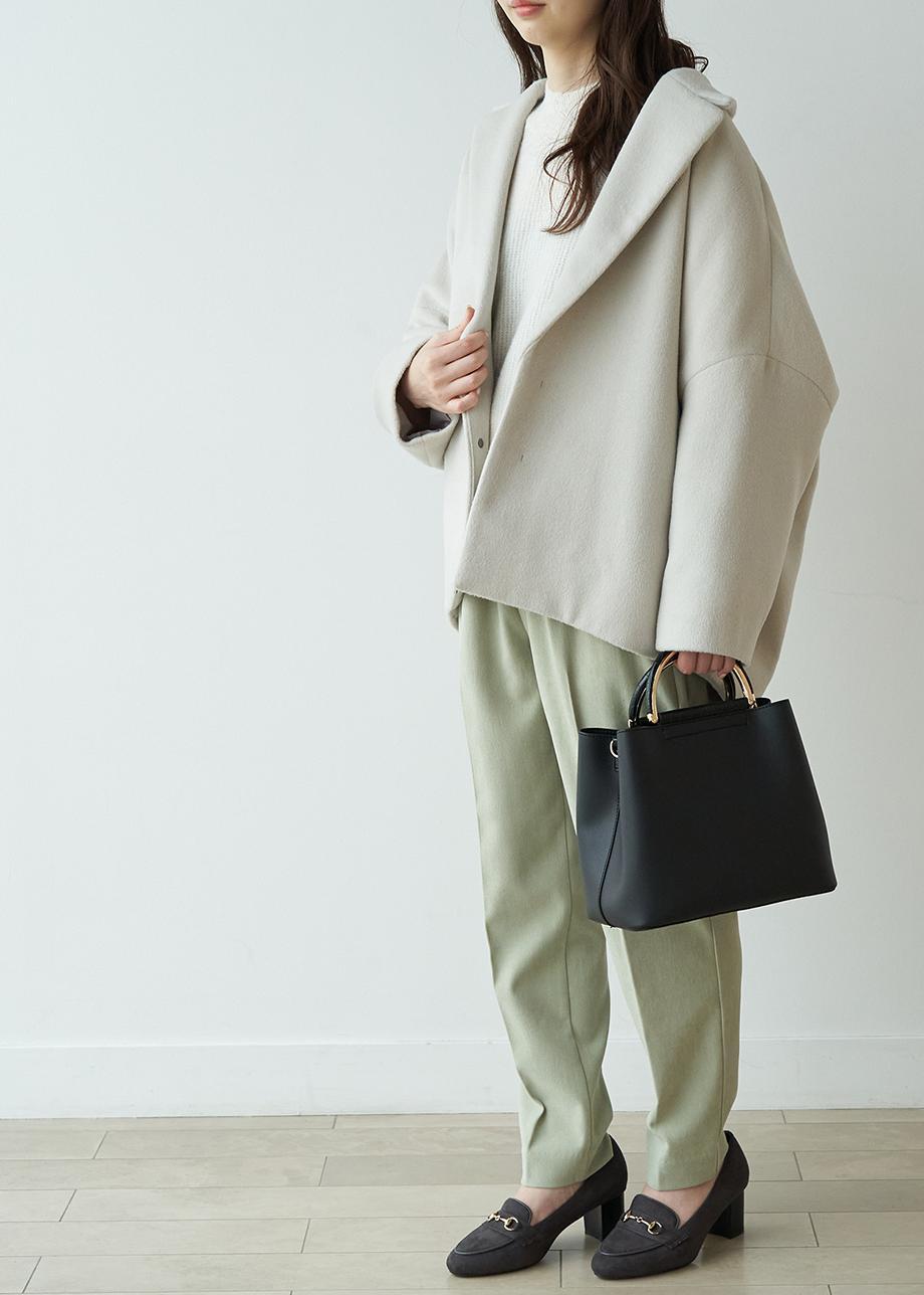 ROPE' PICNICの【ROPE' PICNIC PASSAGE byHARUTA】ビット付きヒールローファーを使ったコーディネートを紹介します。|Rakuten Fashion(楽天ファッション/旧楽天ブランドアベニュー)1077431