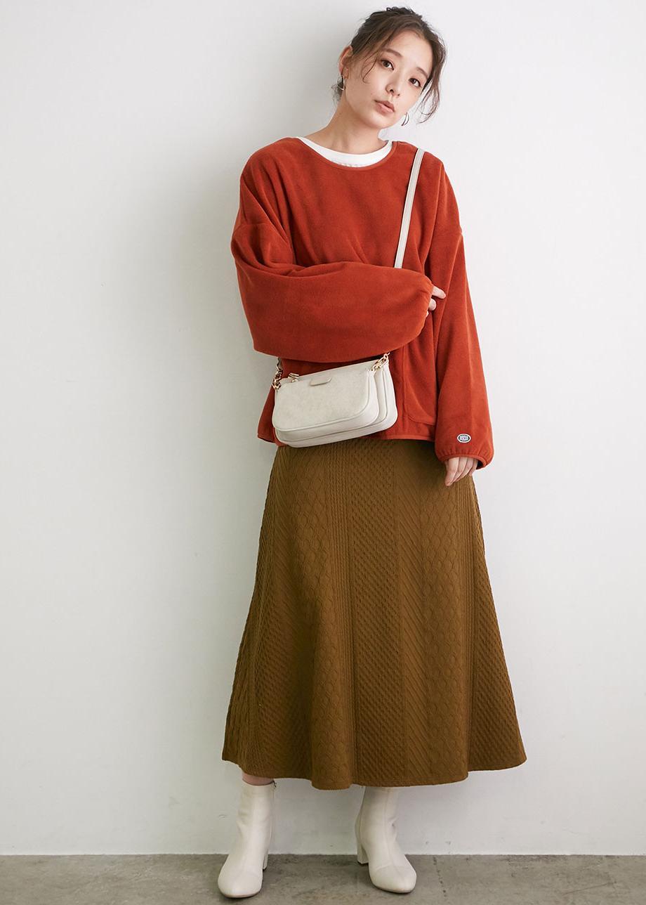ROPE' PICNICのスムースストレッチブーツを使ったコーディネートを紹介します。 Rakuten Fashion(楽天ファッション/旧楽天ブランドアベニュー)1077466