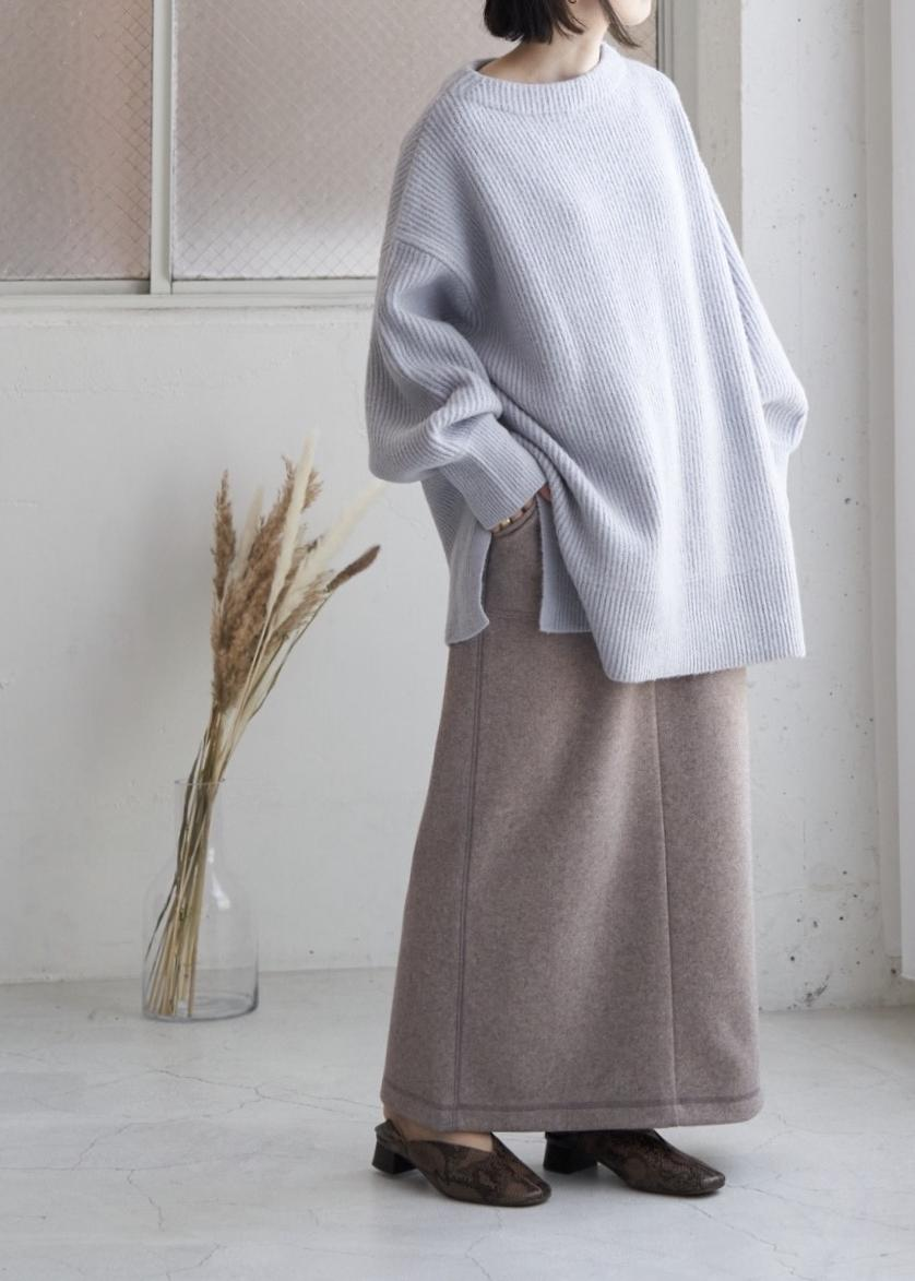 ROPE' PICNICの【emur】ロングリラックススカートを使ったコーディネートを紹介します。 Rakuten Fashion(楽天ファッション/旧楽天ブランドアベニュー)1077640