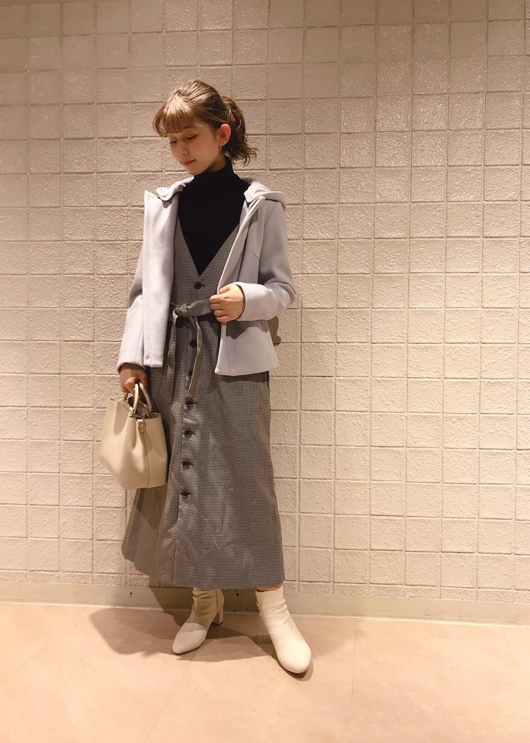 ROPE' PICNICの【WEB限定サイズ36】【アンチピリング】タートルネックニットを使ったコーディネートを紹介します。 Rakuten Fashion(楽天ファッション/旧楽天ブランドアベニュー)1077680