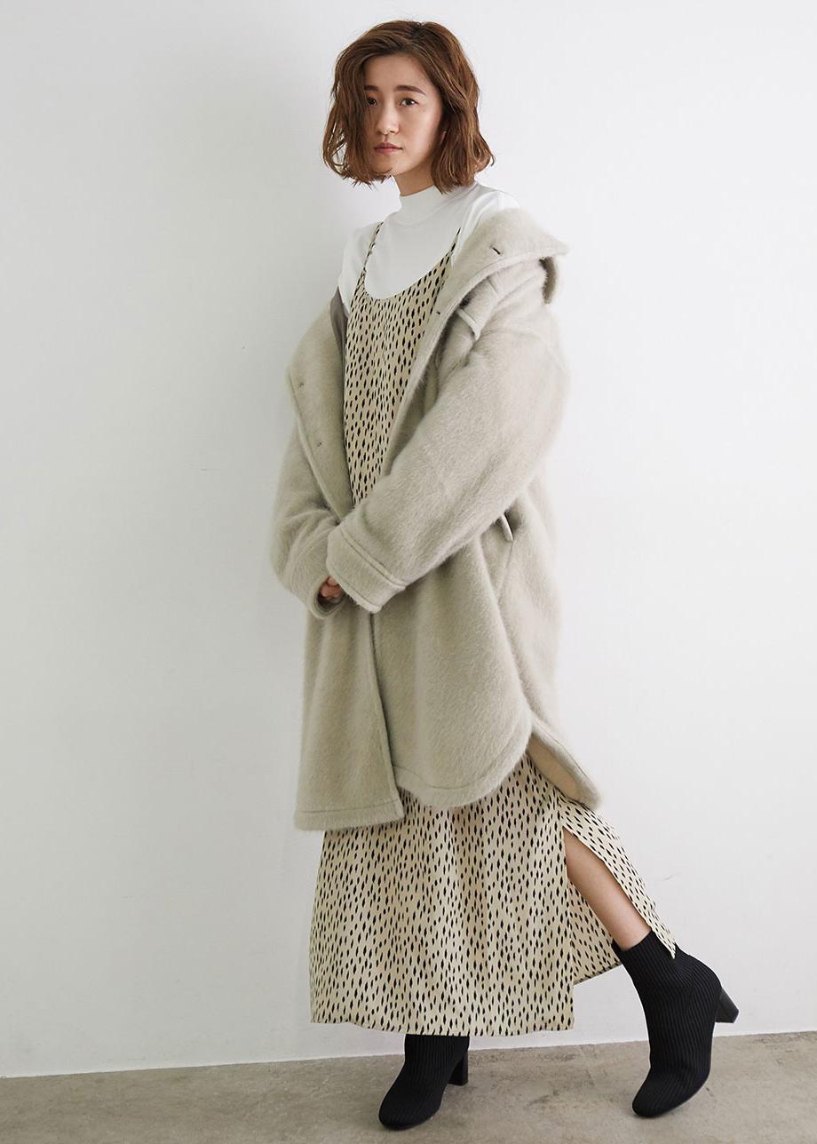 ROPE' PICNICのリブニットストレートヒールソフトブーツを使ったコーディネートを紹介します。 Rakuten Fashion(楽天ファッション/旧楽天ブランドアベニュー)1077548