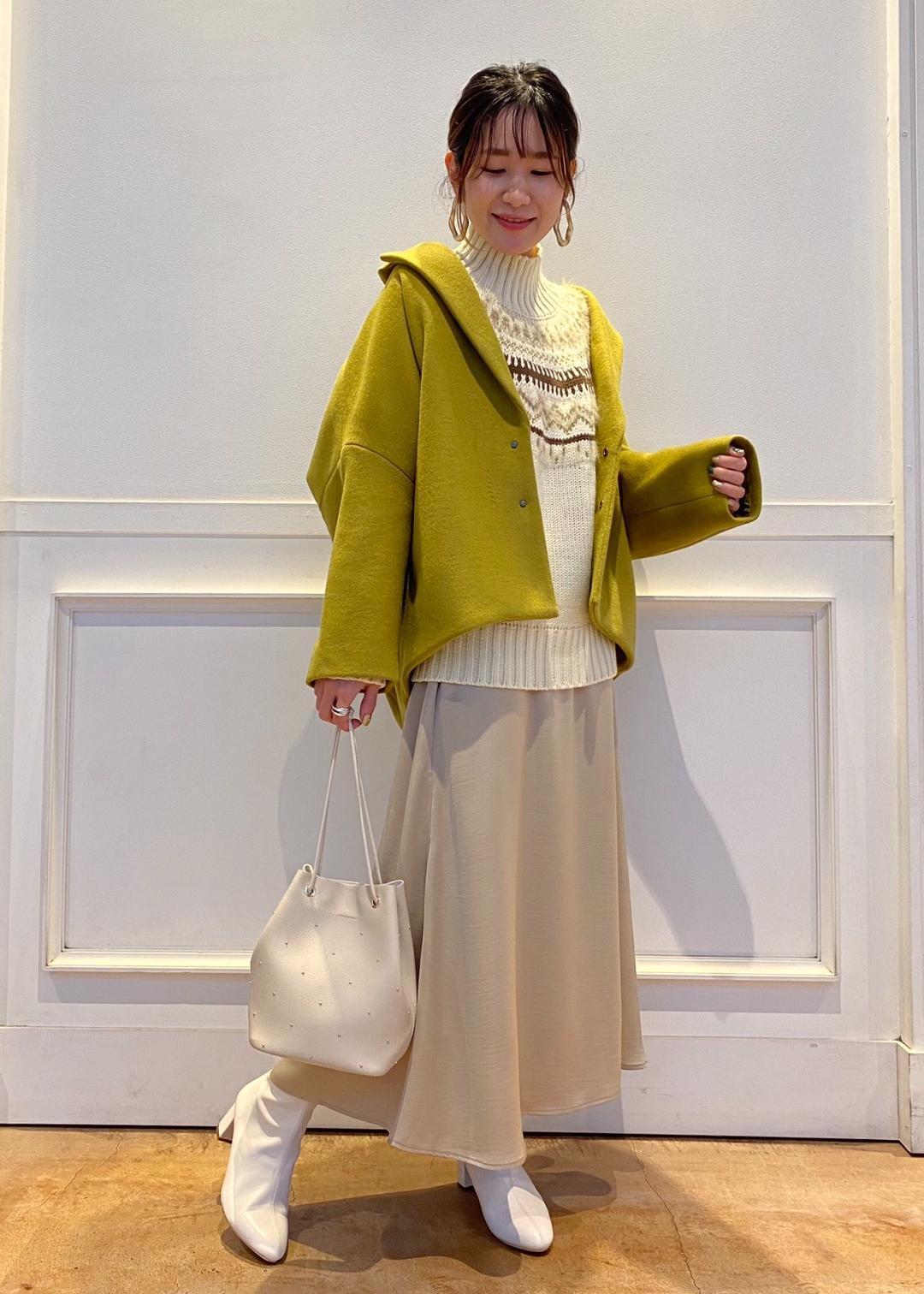 ROPE' PICNICの【リンクコーデ】ラメフェザー求心ニットプルオーバーを使ったコーディネートを紹介します。|Rakuten Fashion(楽天ファッション/旧楽天ブランドアベニュー)1077581