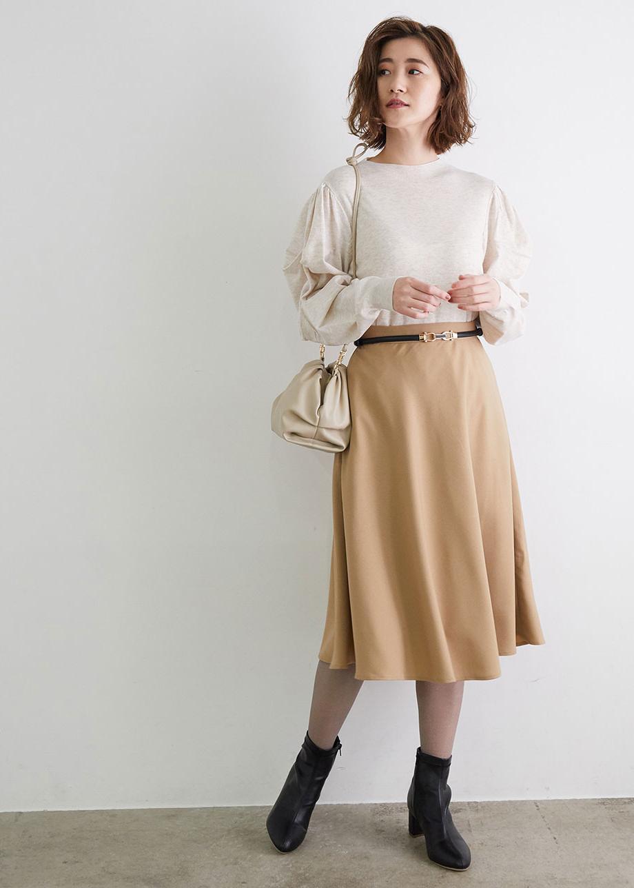 ROPE' PICNICの【マシンウォッシャブル】タックスリーブプルオーバーを使ったコーディネートを紹介します。 Rakuten Fashion(楽天ファッション/旧楽天ブランドアベニュー)1077616