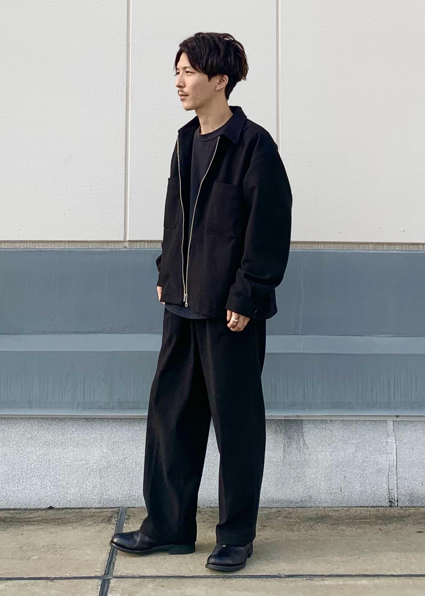 JUNRedのエアリーストレッチフラノワイドパンツ【Set Up可能】を使ったコーディネートを紹介します。|Rakuten Fashion(楽天ファッション/旧楽天ブランドアベニュー)1078155