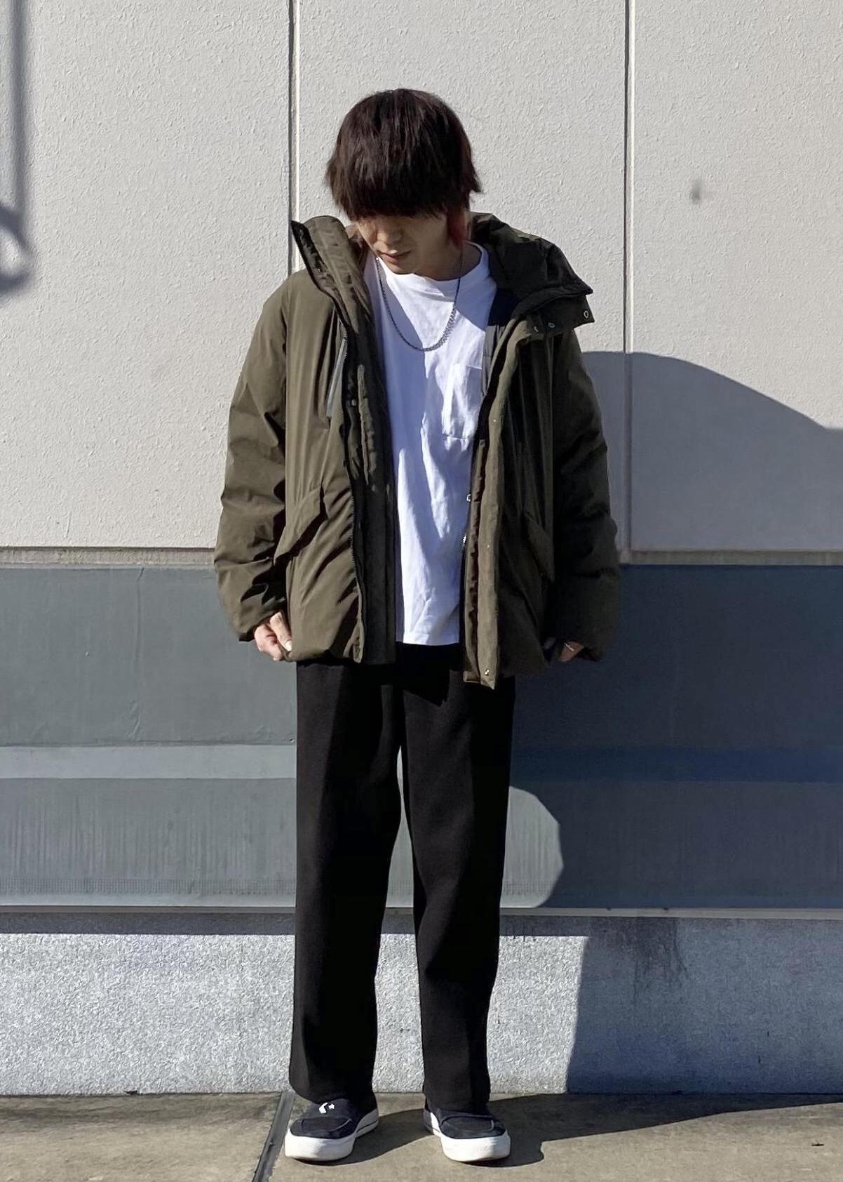 JUNRedのエアリーストレッチフラノワイドパンツ【Set Up可能】を使ったコーディネートを紹介します。|Rakuten Fashion(楽天ファッション/旧楽天ブランドアベニュー)1078067