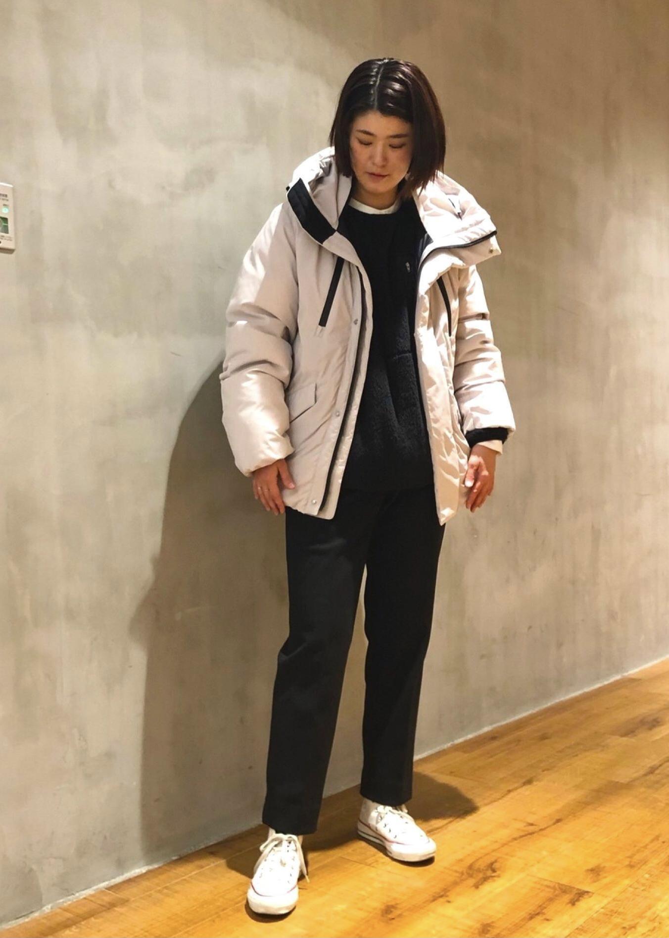 JUNRedのエアリーストレッチフラノスリムパンツ【Set Up可能】を使ったコーディネートを紹介します。|Rakuten Fashion(楽天ファッション/旧楽天ブランドアベニュー)1078108