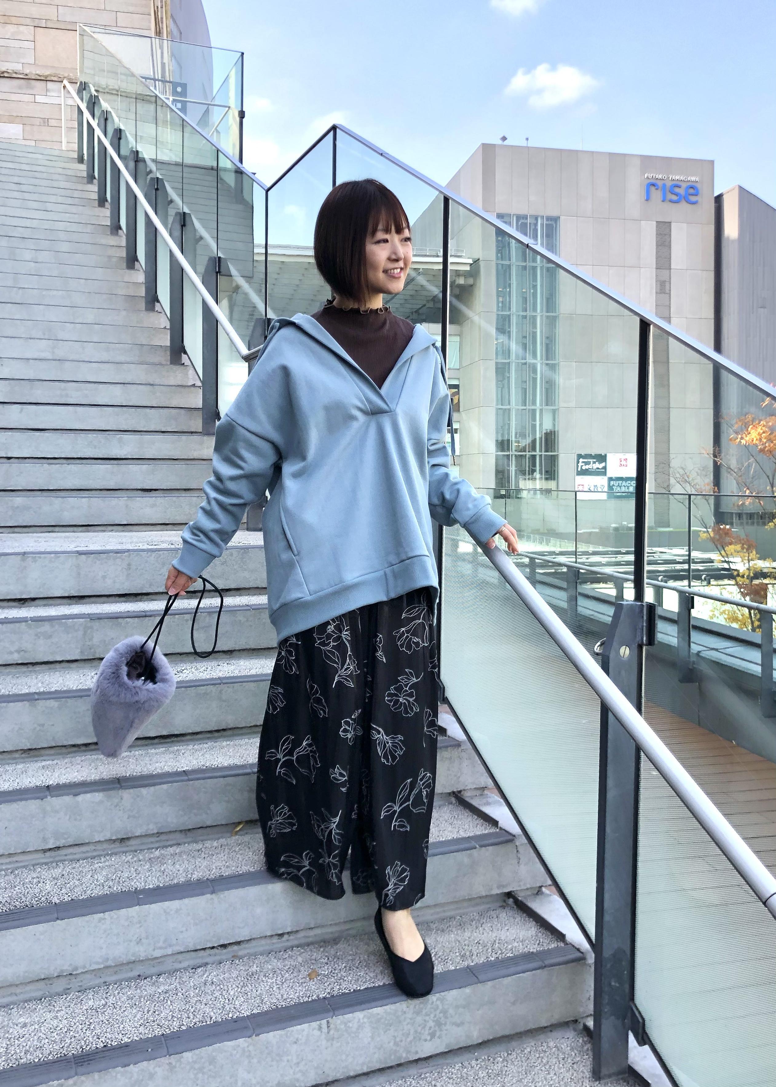 ViSの裏起毛メキシカンパーカーを使ったコーディネートを紹介します。|Rakuten Fashion(楽天ファッション/旧楽天ブランドアベニュー)1078222