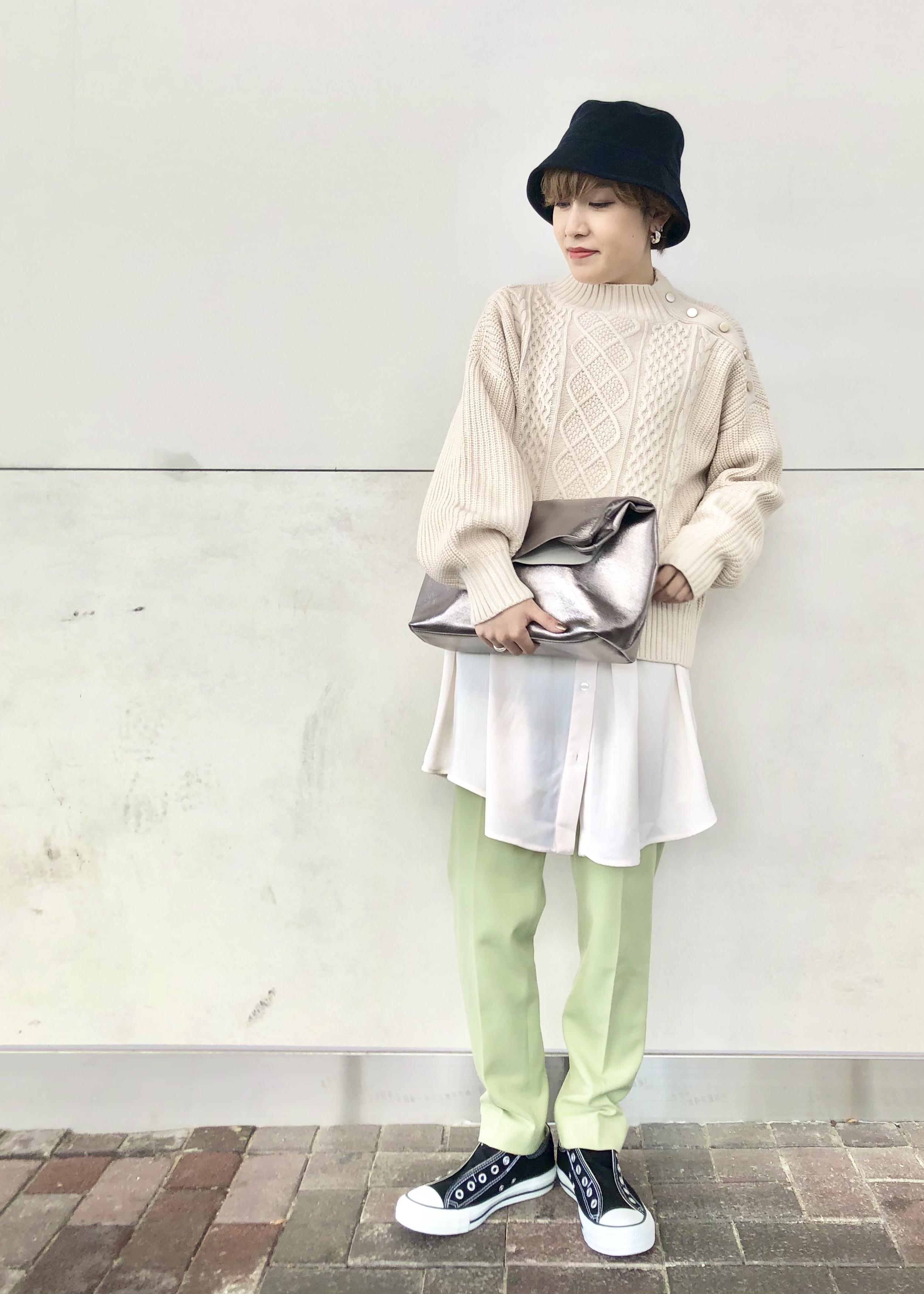 ViSの【A4対応】ロングハンドルエコレザートートバッグを使ったコーディネートを紹介します。|Rakuten Fashion(楽天ファッション/旧楽天ブランドアベニュー)1078367