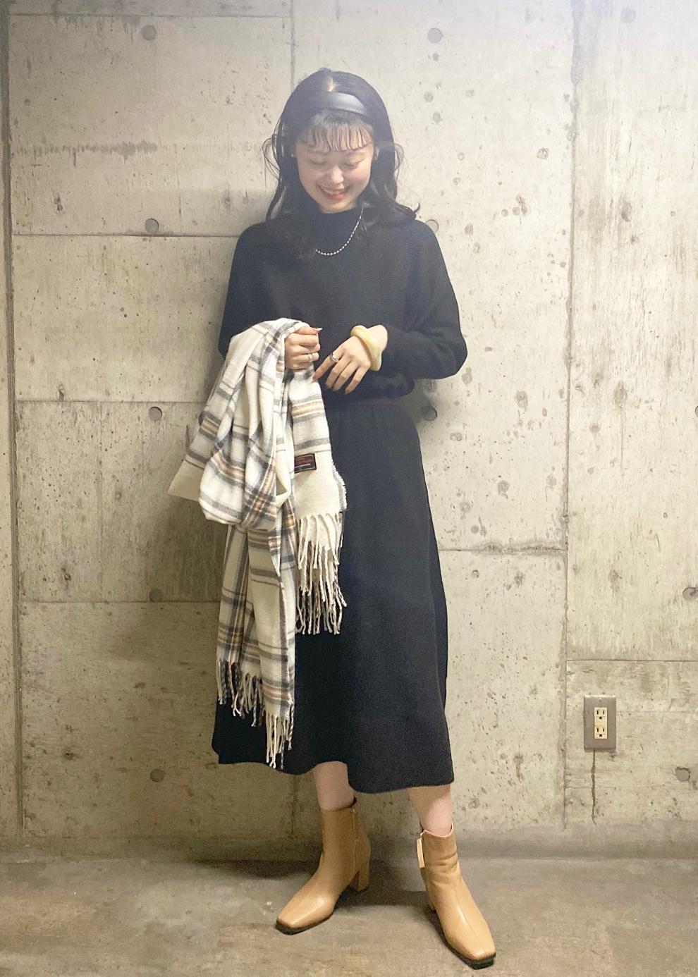 ViSの【星玲奈*ViS】ドルマンフレアニットワンピースを使ったコーディネートを紹介します。 Rakuten Fashion(楽天ファッション/旧楽天ブランドアベニュー)1078591