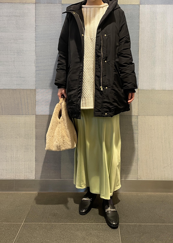 ViSの【星玲奈*ViS】カノコ*ケーブルニットチュニックを使ったコーディネートを紹介します。|Rakuten Fashion(楽天ファッション/旧楽天ブランドアベニュー)1078601