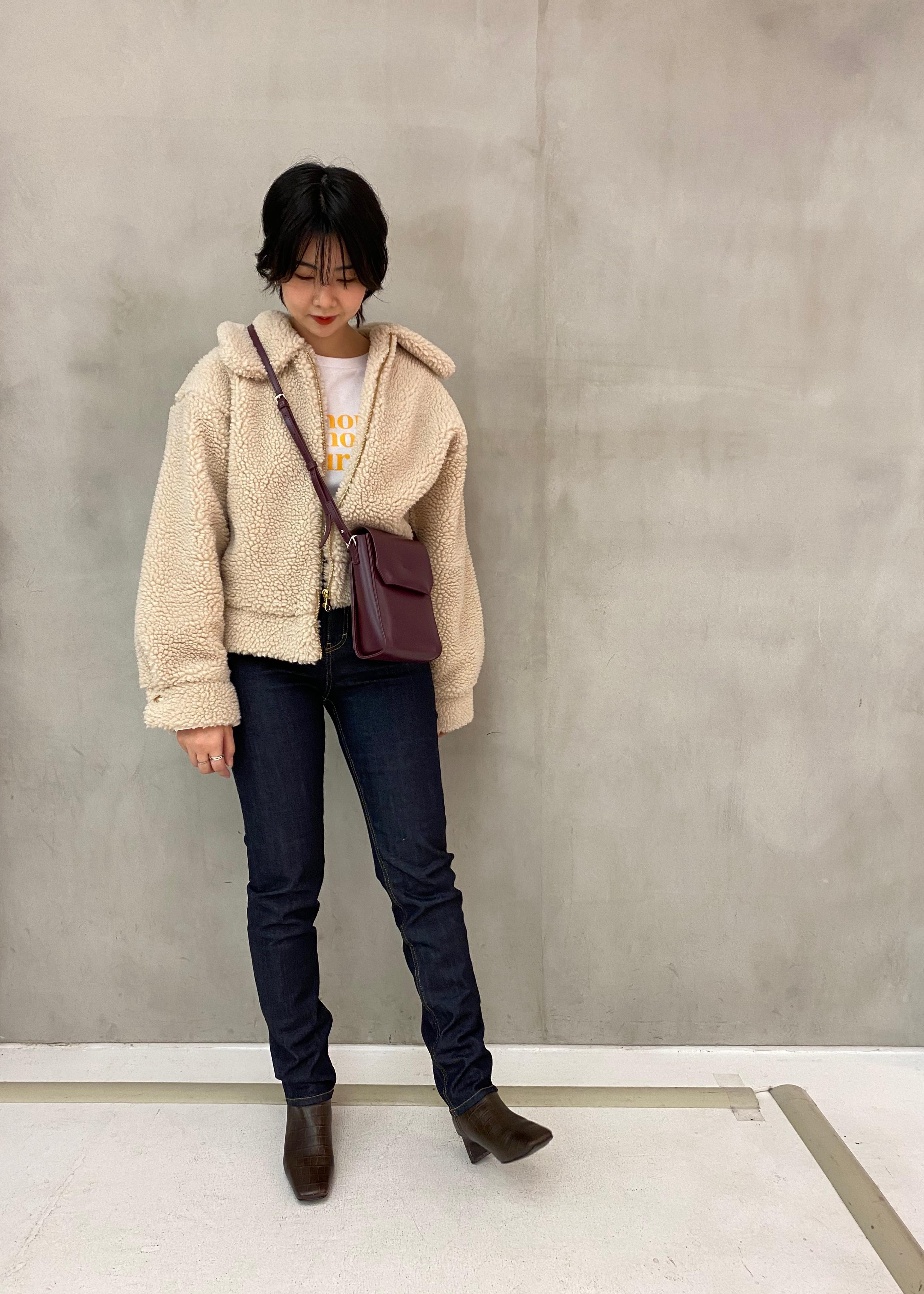 ROPE'の【Les Petits Basics】別注 ロングスリーブTシャツを使ったコーディネートを紹介します。 Rakuten Fashion(楽天ファッション/旧楽天ブランドアベニュー)1078905