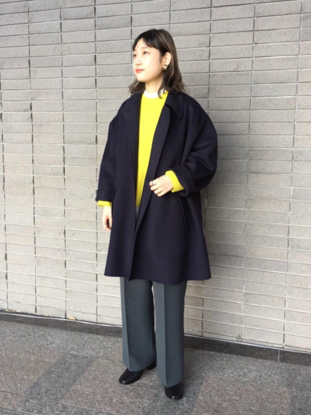 BEAUTY & YOUTH UNITED ARROWSのBY∴ ウールカシミヤ7Gラグランクルーネックニット оを使ったコーディネートを紹介します。|Rakuten Fashion(楽天ファッション/旧楽天ブランドアベニュー)1079268