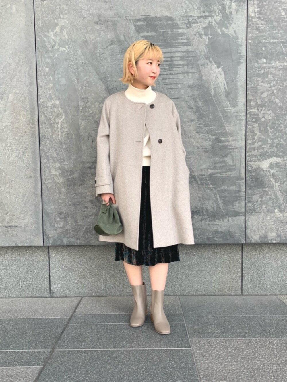 BEAUTY & YOUTH UNITED ARROWSのBY レザーサイドゴアミドルブーツ оを使ったコーディネートを紹介します。 Rakuten Fashion(楽天ファッション/旧楽天ブランドアベニュー)1079369