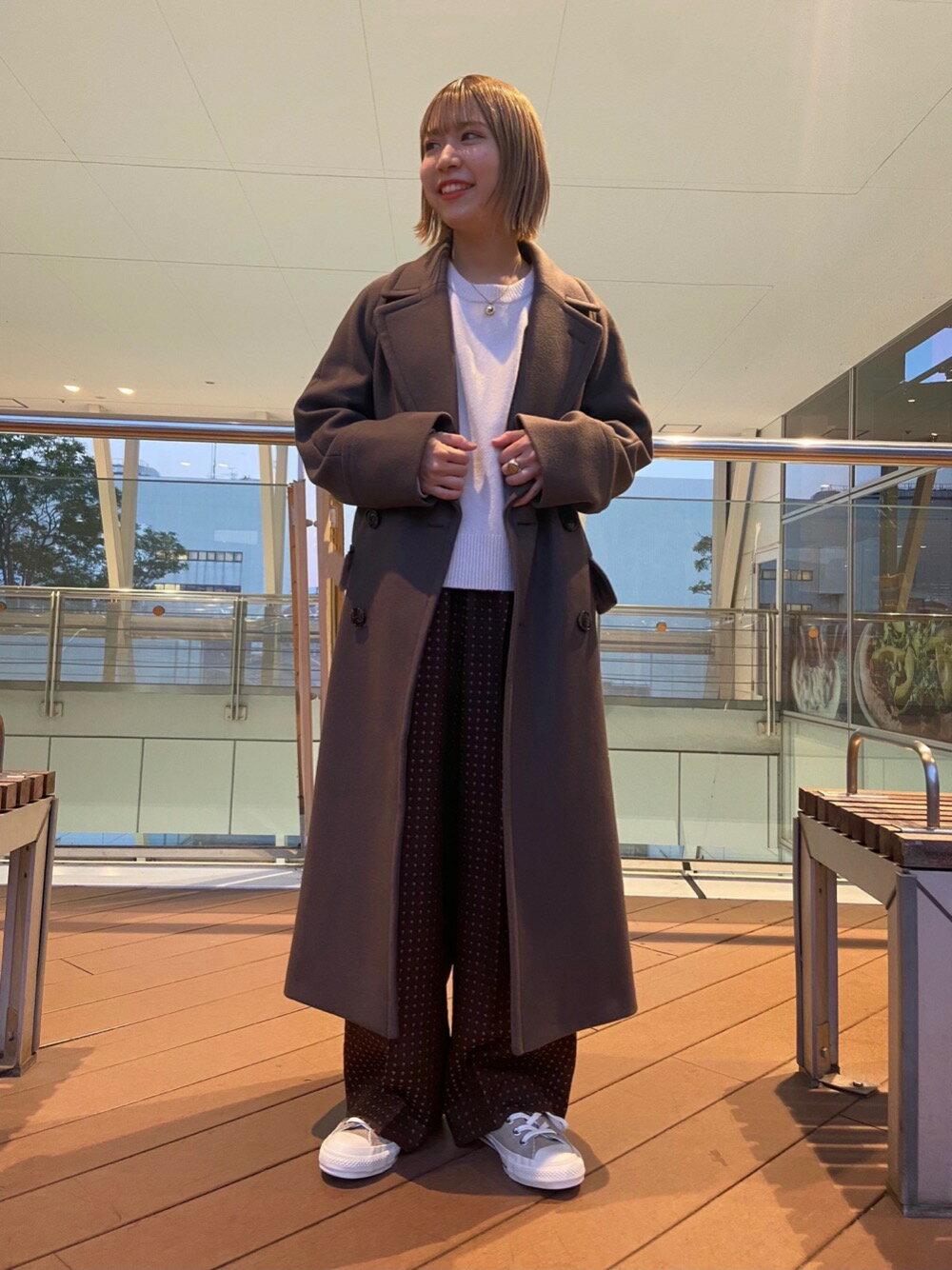 BEAUTY & YOUTH UNITED ARROWSのBY∴ ウールカシミヤ7Gラグランクルーネックニット оを使ったコーディネートを紹介します。|Rakuten Fashion(楽天ファッション/旧楽天ブランドアベニュー)1079441