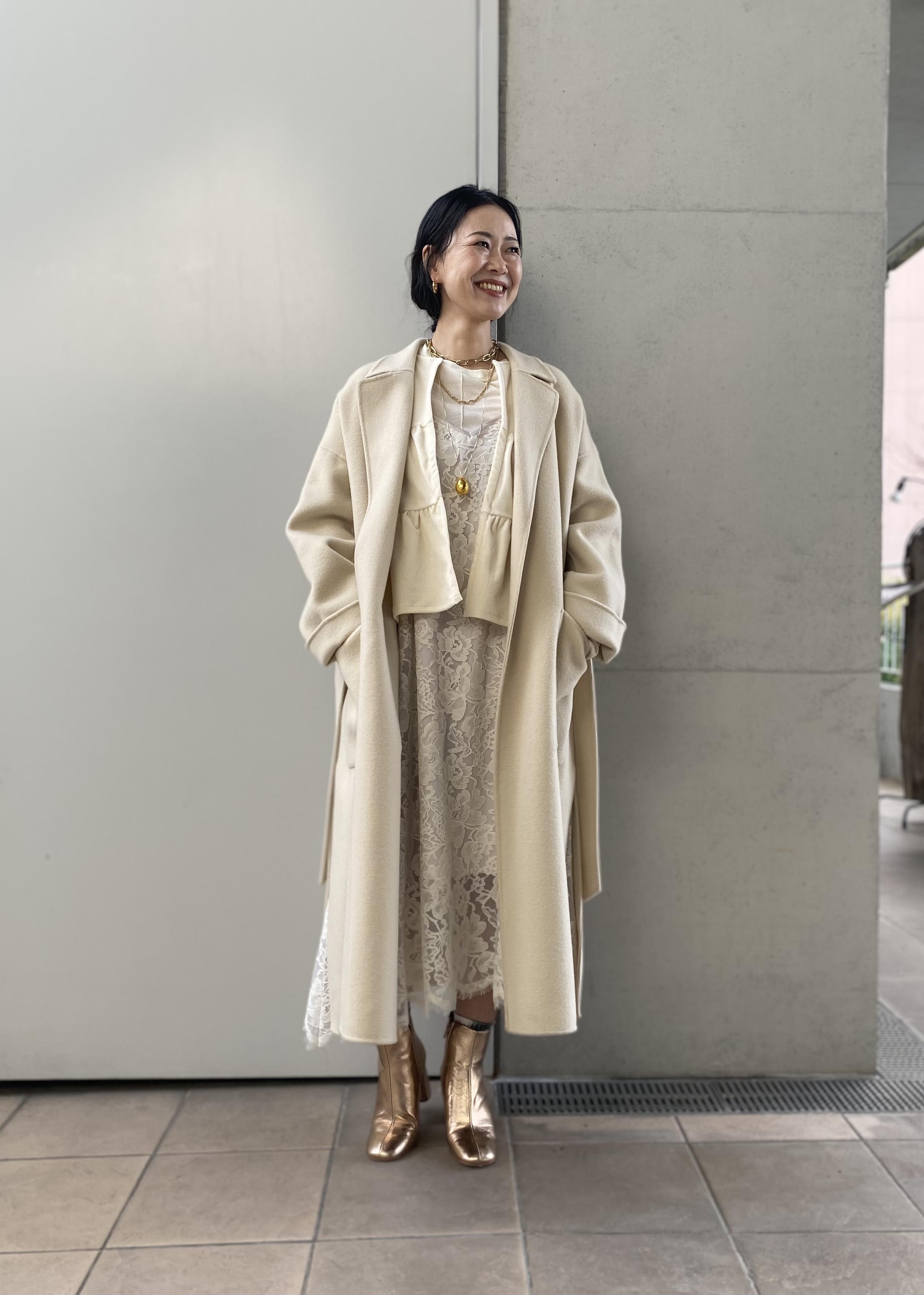 ADAM ET ROPE'の【撥水加工】140'sウールダブルメルトンリバーコートを使ったコーディネートを紹介します。 Rakuten Fashion(楽天ファッション/旧楽天ブランドアベニュー)1079985