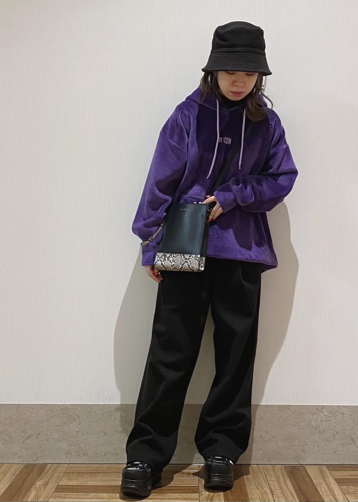JUNRedのエアリーストレッチフラノワイドパンツ【Set Up可能】を使ったコーディネートを紹介します。|Rakuten Fashion(楽天ファッション/旧楽天ブランドアベニュー)1080609