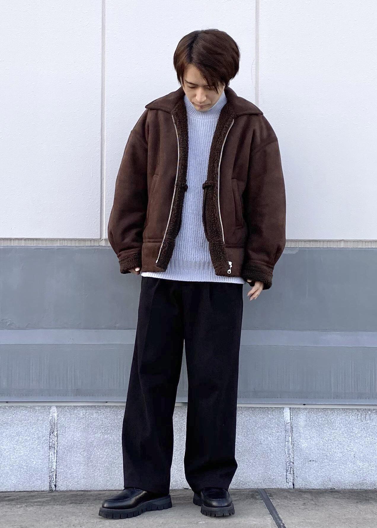 JUNRedのホイップモールルーズニットを使ったコーディネートを紹介します。|Rakuten Fashion(楽天ファッション/旧楽天ブランドアベニュー)1080632