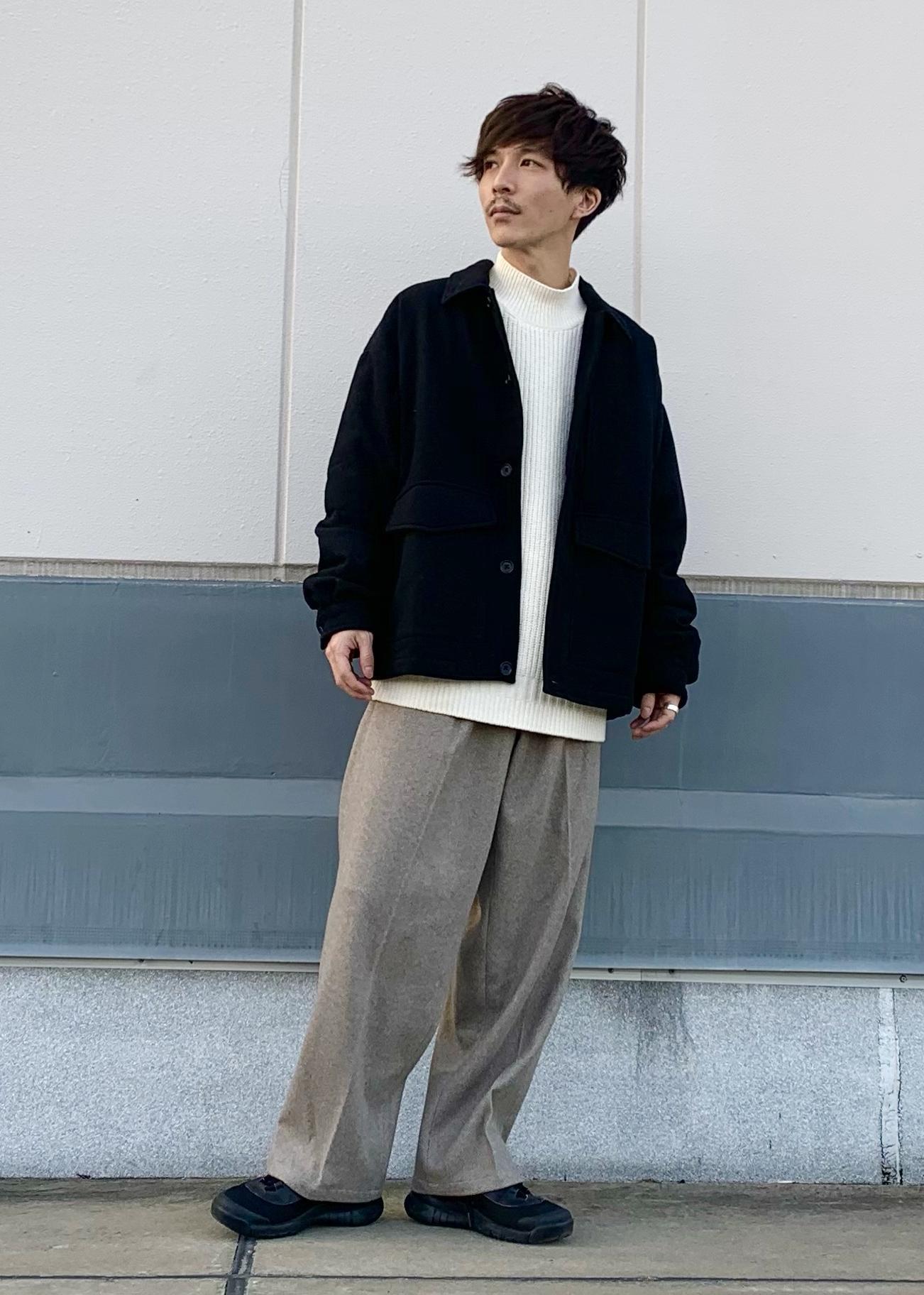JUNRedのホイップモールルーズニットを使ったコーディネートを紹介します。|Rakuten Fashion(楽天ファッション/旧楽天ブランドアベニュー)1080642