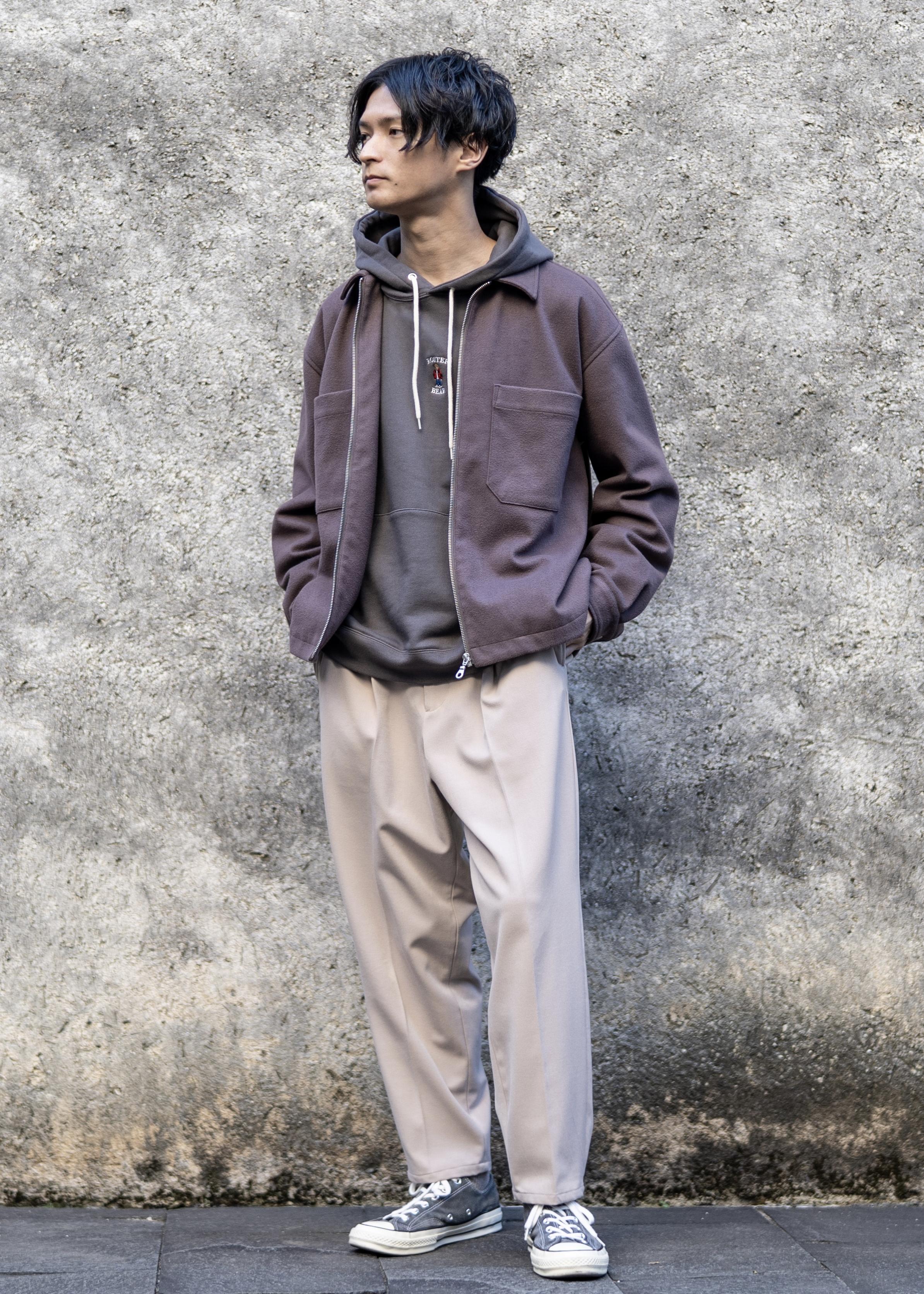 JUNRedのROSTER BEAR別注刺繍パーカーを使ったコーディネートを紹介します。|Rakuten Fashion(楽天ファッション/旧楽天ブランドアベニュー)1080652