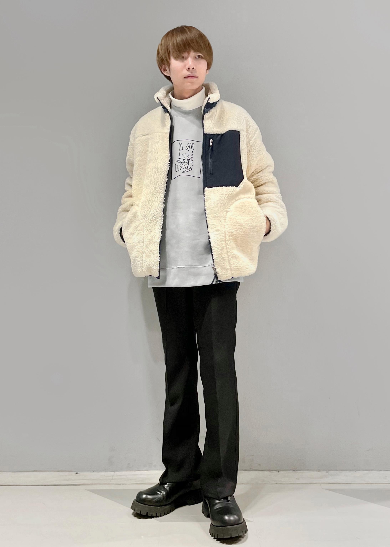 JUNRedの【Ken Kagami * JUNRed】モックネックスウェットを使ったコーディネートを紹介します。|Rakuten Fashion(楽天ファッション/旧楽天ブランドアベニュー)1080522