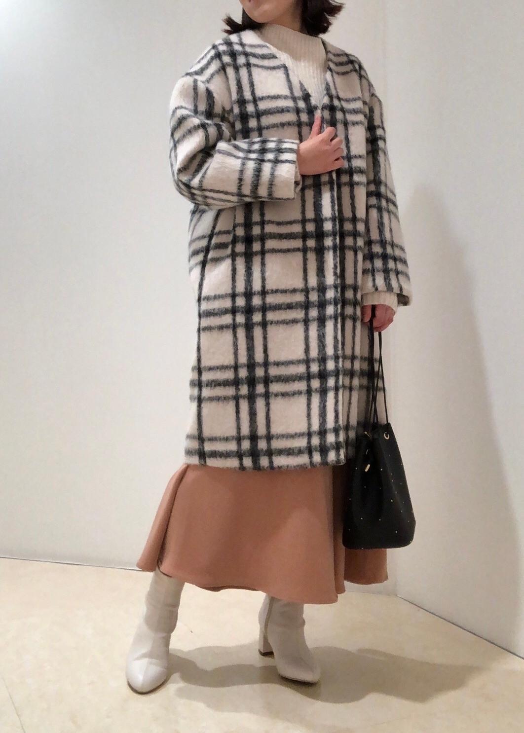 ROPE' PICNICのアシンメトリー切替フレアスカートを使ったコーディネートを紹介します。|Rakuten Fashion(楽天ファッション/旧楽天ブランドアベニュー)1080798