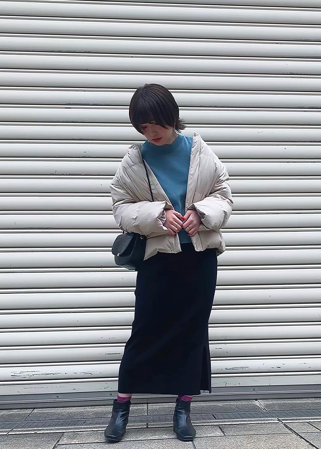 ROPE' PICNICの【Green down】ショートダウンを使ったコーディネートを紹介します。 Rakuten Fashion(楽天ファッション/旧楽天ブランドアベニュー)1080820