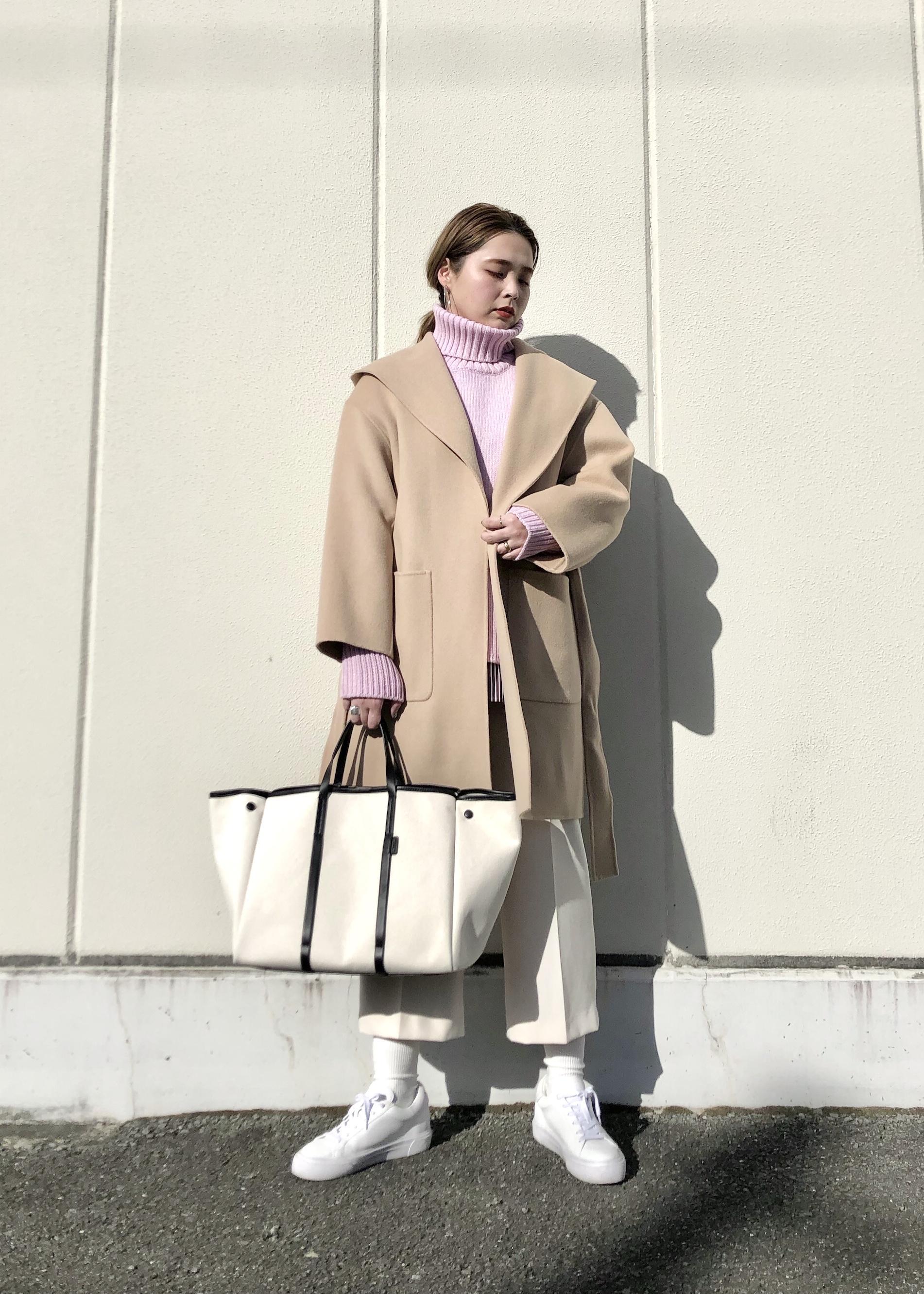 ROPE'の【手洗い可】サスペンダーハイウエストパンツを使ったコーディネートを紹介します。 Rakuten Fashion(楽天ファッション/旧楽天ブランドアベニュー)1080121