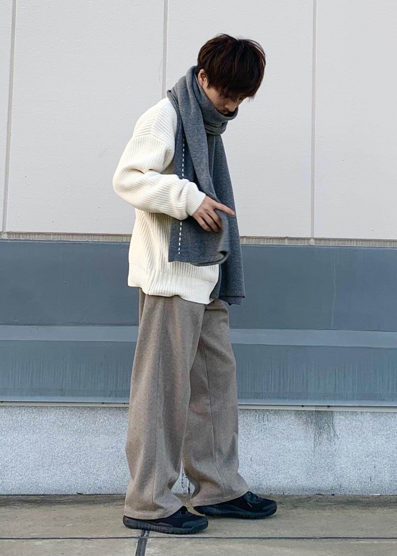 JUNRedのホイップモールルーズニットを使ったコーディネートを紹介します。|Rakuten Fashion(楽天ファッション/旧楽天ブランドアベニュー)1080194
