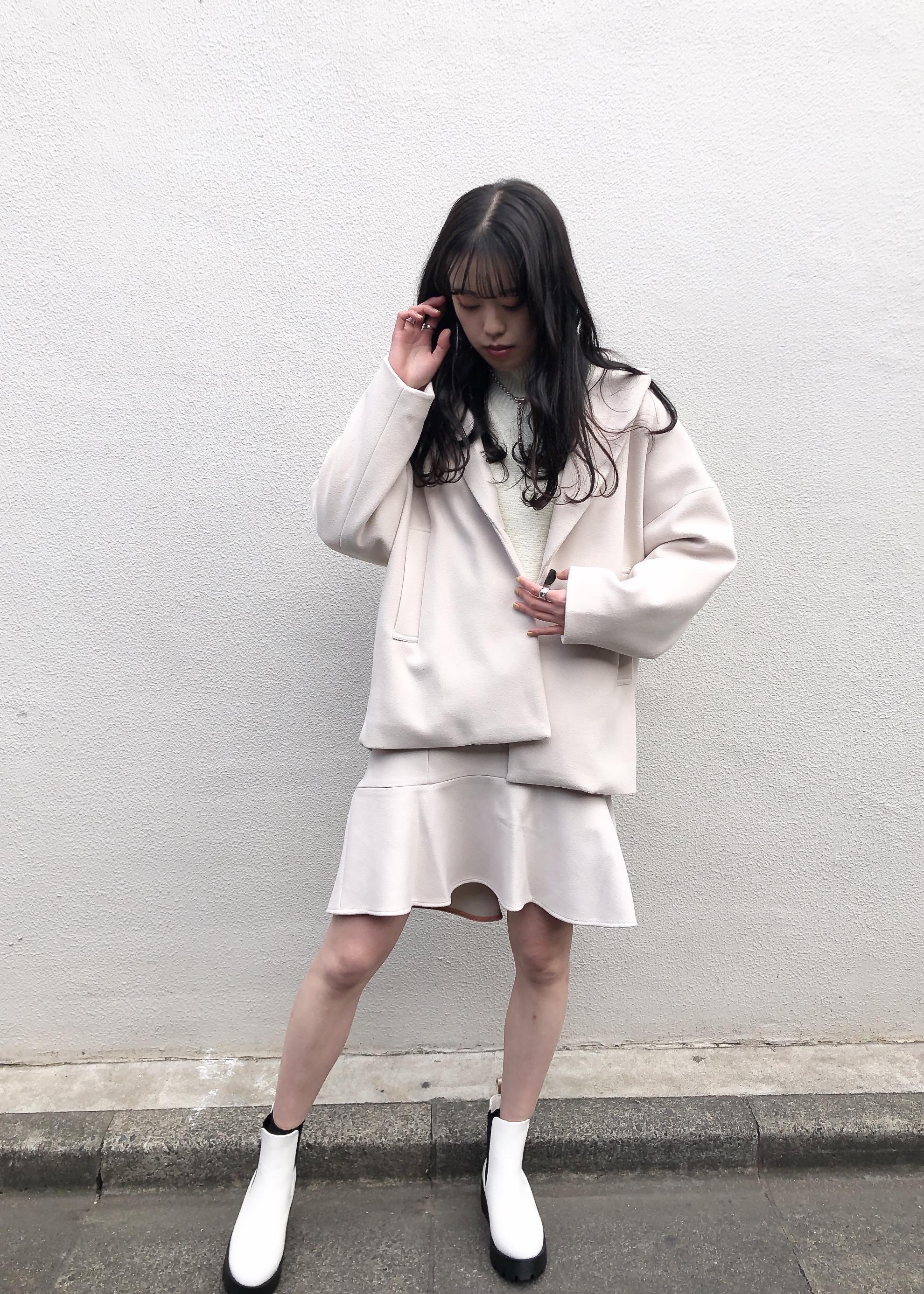 ViSの【セットアップ】エコポリジャージーゆるジャケットを使ったコーディネートを紹介します。|Rakuten Fashion(楽天ファッション/旧楽天ブランドアベニュー)1080312
