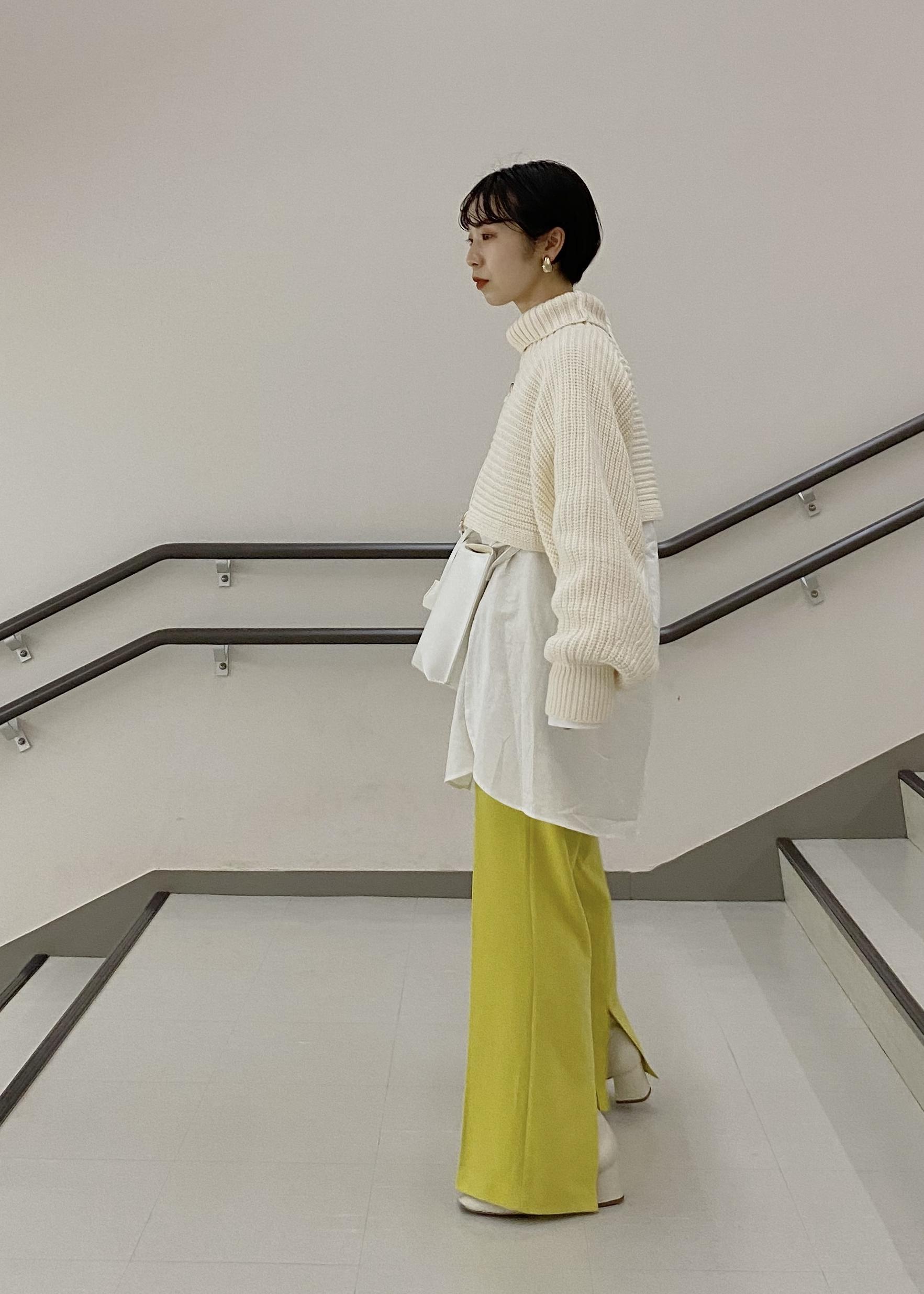 ViSの起毛ツイルバンドカラーシャツを使ったコーディネートを紹介します。 Rakuten Fashion(楽天ファッション/旧楽天ブランドアベニュー)1081009